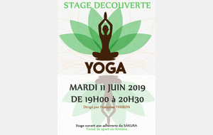 STAGE DECOUVERTE YOGA